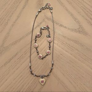 BRIGHTON retired necklace and bracelet set